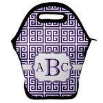 Greek Key Lunch Bag w/ Monogram