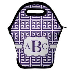Greek Key Lunch Bag (Personalized)
