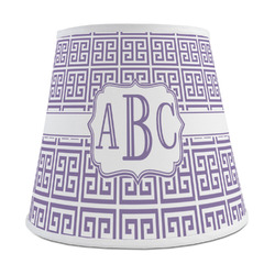 Greek Key Empire Lamp Shade (Personalized)