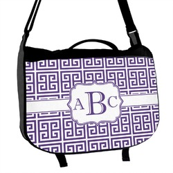Greek Key Messenger Bag (Personalized)