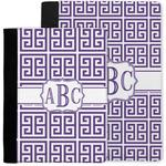 Greek Key Notebook Padfolio w/ Monogram