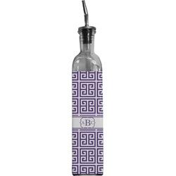 Greek Key Oil Dispenser Bottle (Personalized)