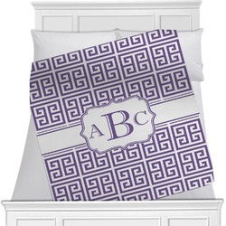 Greek Key Blanket (Personalized)