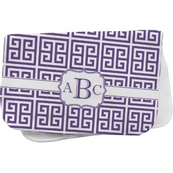 Greek Key Burp Cloth (Personalized)