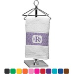 Greek Key Finger Tip Towel (Personalized)