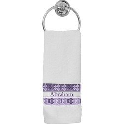 Greek Key Hand Towel (Personalized)