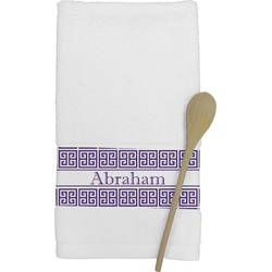Greek Key Kitchen Towel (Personalized)
