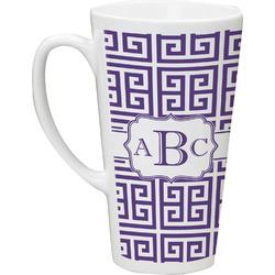Greek Key Latte Mug (Personalized)