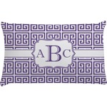 Greek Key Pillow Case (Personalized)