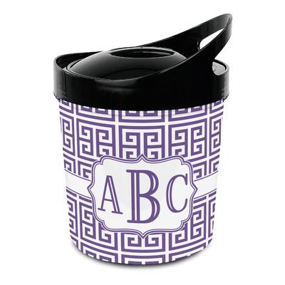 Greek Key Plastic Ice Bucket (Personalized)