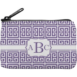 Greek Key Rectangular Coin Purse (Personalized)