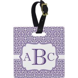 Greek Key Luggage Tags (Personalized)