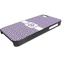Greek Key Plastic iPhone 5/5S Phone Case (Personalized)