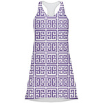 Greek Key Racerback Dress (Personalized)