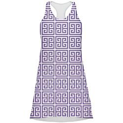 Greek Key Racerback Dress (Personalized)