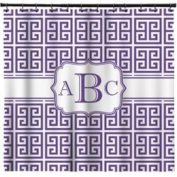 Greek Key Shower Curtain (Personalized)