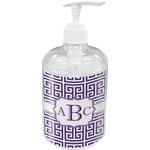 Greek Key Acrylic Soap & Lotion Bottle (Personalized)
