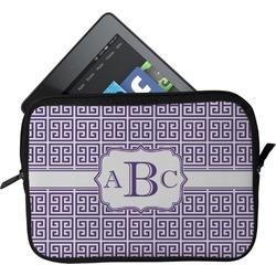Greek Key Tablet Case / Sleeve (Personalized)
