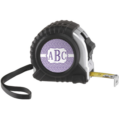 Greek Key Tape Measure (25 ft) (Personalized)