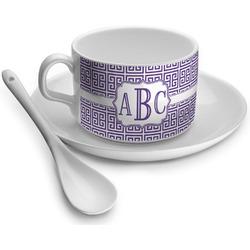 Greek Key Tea Cup - Single (Personalized)