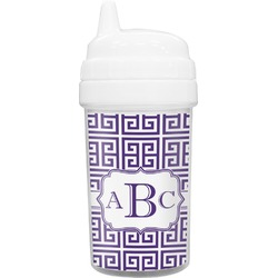 Greek Key Toddler Sippy Cup (Personalized)