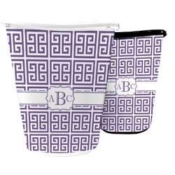 Greek Key Waste Basket (Personalized)
