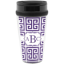 Greek Key Travel Mug (Personalized)