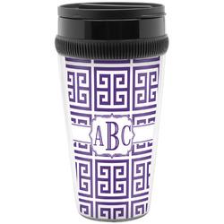 Greek Key Travel Mugs (Personalized)