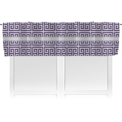 Greek Key Valance (Personalized)