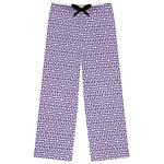 Greek Key Womens Pajama Pants (Personalized)
