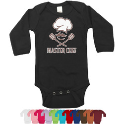 Master Chef Long Sleeves Bodysuit - 12 Bodysuit Colors (Personalized)