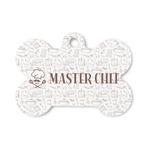 Master Chef Bone Shaped Dog ID Tag (Personalized)