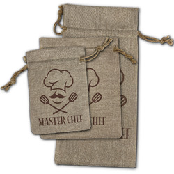 Master Chef Burlap Gift Bags (Personalized)