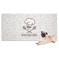 Master Chef Dog Towel w/ Name or Text