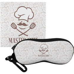 Master Chef Eyeglass Case & Cloth w/ Name or Text