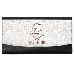 Master Chef Genuine Leather Ladies Wallet w/ Name or Text