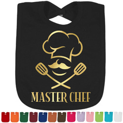 Master Chef Foil Baby Bibs (Personalized)