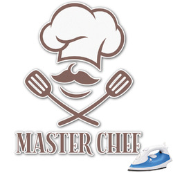 Master Chef Graphic Iron On Transfer (Personalized)