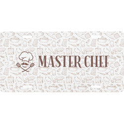 Master Chef Front License Plate (Personalized)