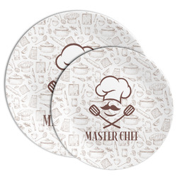 Master Chef Melamine Plate (Personalized)