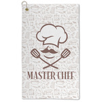 Master Chef Microfiber Golf Towel - Large (Personalized)
