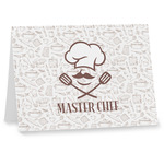 Master Chef Note cards w/ Name or Text