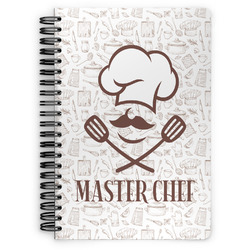 Master Chef Spiral Notebook (Personalized)