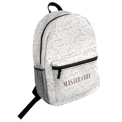 Master Chef Student Backpack (Personalized)