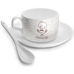 Master Chef Tea Cups (Personalized)