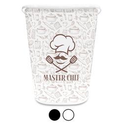 Master Chef Waste Basket (Personalized)
