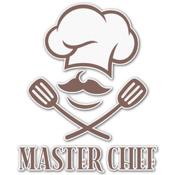 Master Chef Graphic Decal - Custom Sizes (Personalized)