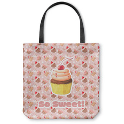 Sweet Cupcakes Canvas Tote Bag (Personalized)