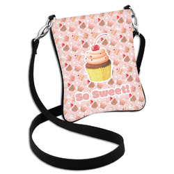 Sweet Cupcakes Cross Body Bag - 2 Sizes (Personalized)