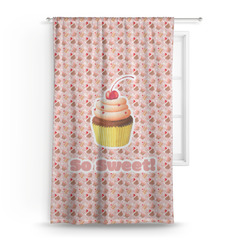 Sweet Cupcakes Curtain (Personalized)